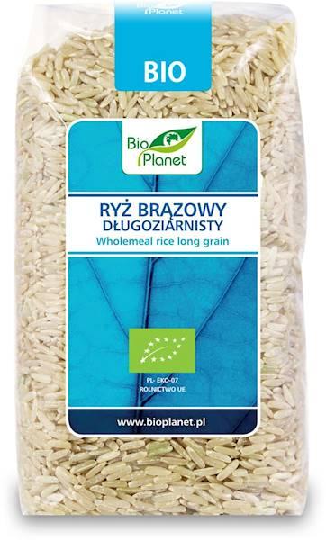 BIO Ryż brązowy długoziarnisty 500g Bio Planet