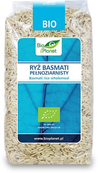 BIO Ryż basmati pełnoziarnisty 500g Bio Planet