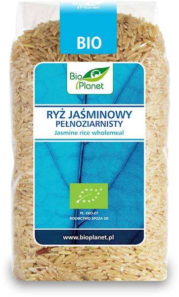 BIO Ryż jaśminowy pełnoziarnisty 500g Bio Planet