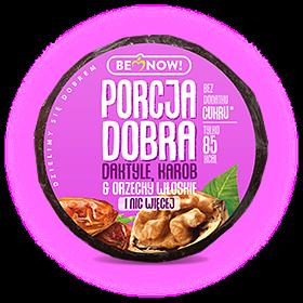 Porcja Dobra Przekąska daktyle-karob-o.włoskie 25g