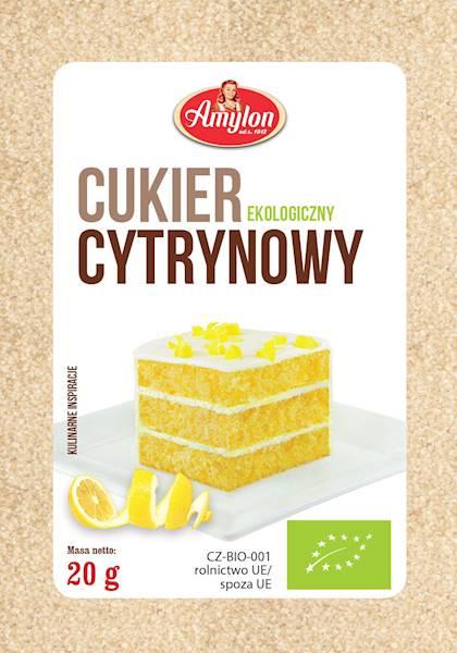 BIO Cukier cytrynowy 20g Amylon