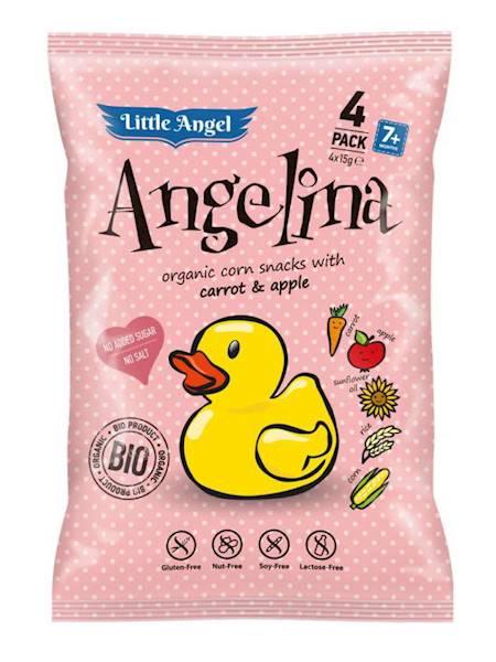 BIO Bezglutenowe chrupki Angelina 4x15g