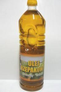 Olej rzepakowy 1l zimnotłoczony Lompart