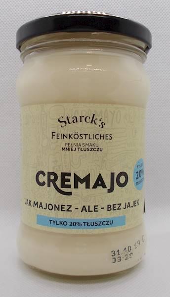 Cremajo bez jajek 20% tłuszczu 270g Starck's