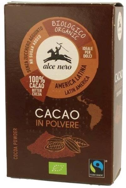 Bio kakao w proszku FT 75g Alce Nero