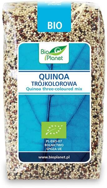 BIO Quinoa trójkolorowa 500g BIO Planet