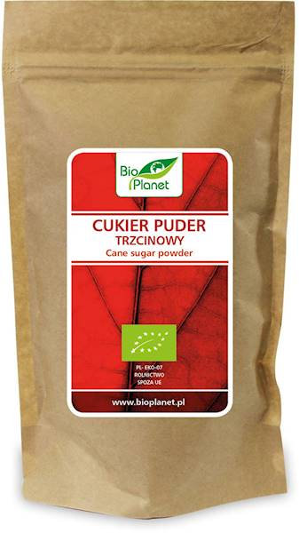 BIO Cukier puder trzcinowy 300g Bio Planet