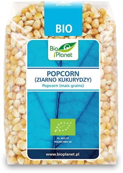 BIO Popcorn (ziarno kukurydzy) 400g BioPlanet