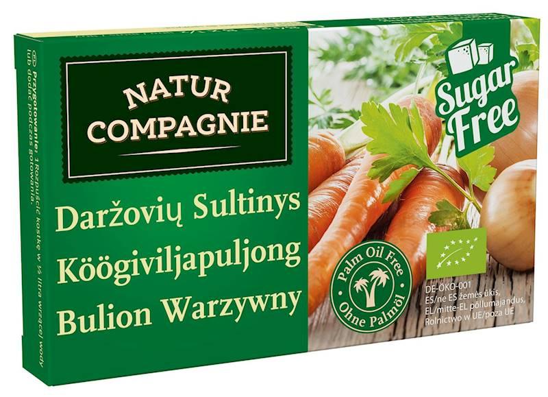 BIO Bulion Kostki warzywne b/c  84g Natur Compagne