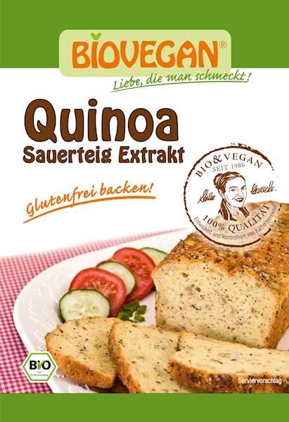 BIO Zakwas chlebowy quinoa w proszku 20g