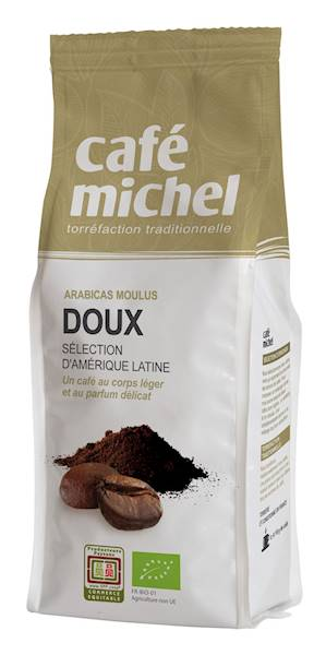 BIO Kawa mielona arabica Doux fair trade 250g