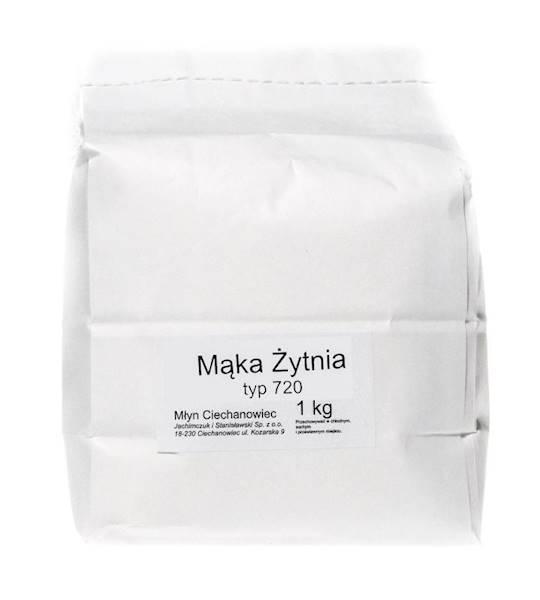 Mąka żytnia typ 720 1kg Ciechanowiecka