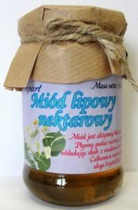 Miód lipowy nektarowy 380 g