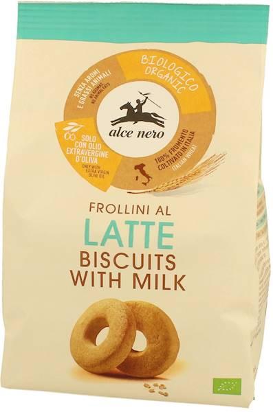 BIO Ciastka mleczne z oliwą (14%) 250g Alce Nero
