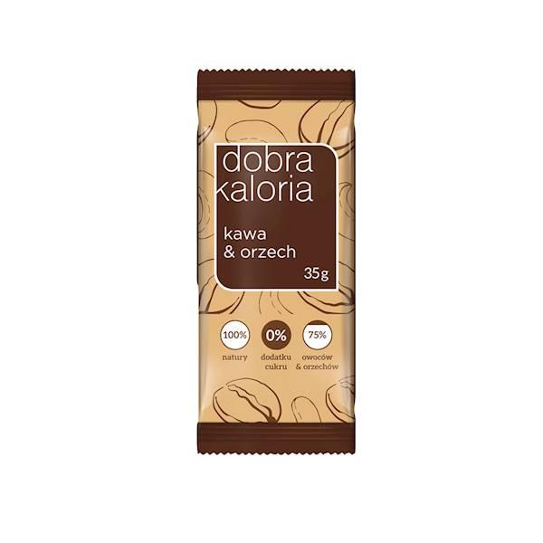 Baton kawa&orzech nerkowca bez dodatku cukru 35g K