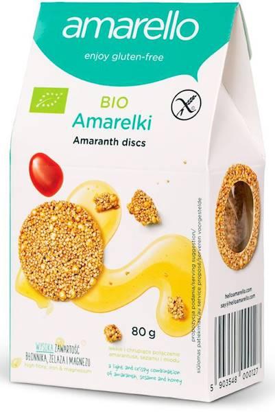 Bio amarelki - talarki amarantusowe bezglutenowe 8