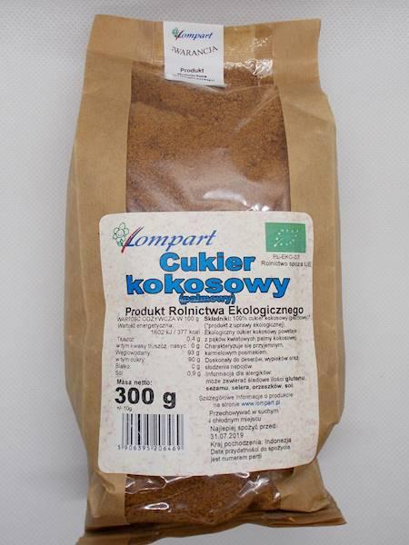 Bio cukier kokosowy (palmowy) 300g Lompart