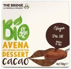 Bio deser owsiano-czekoladowy 4x110g The Bridge
