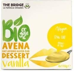 Bio deser owsiano-waniliowy 4x110g The Bridge