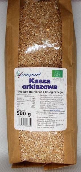 Bio kasza orkiszowa 500g Lompart