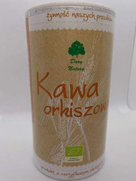 Bio kawa orkiszowa 200g Dary Natury