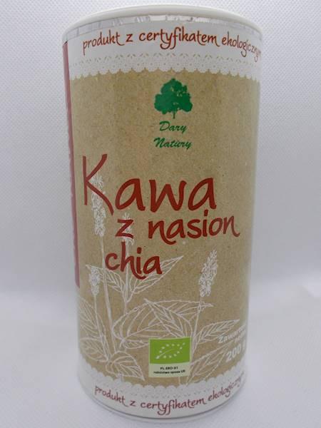 Bio kawa z nasion chia 200g Dary Natury
