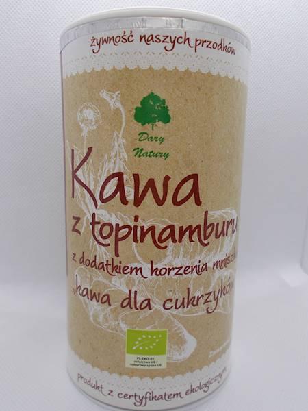 Bio kawa z topinamburu z dodatkiem korzenia mniszk