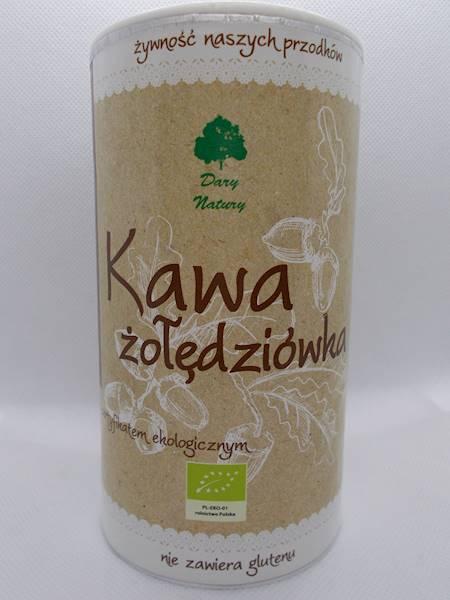 Bio kawa żołędziówka bez glutenu 200g Dary Natury
