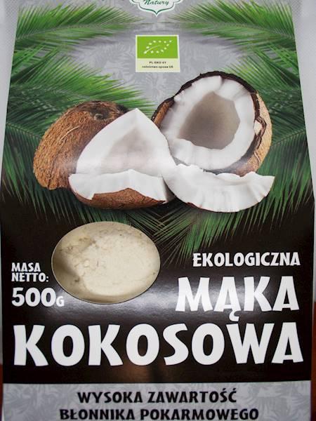 Bio mąka kokosowa 500g Dary Natury
