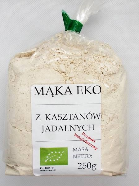 Bio mąka z kasztanów jadalnych 250g Viands