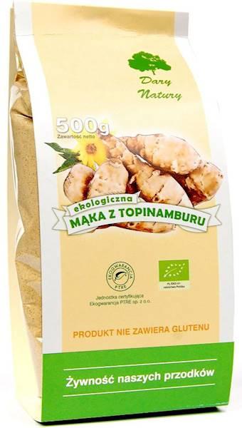 Bio mąka z topinamburu 500g Dary Natury