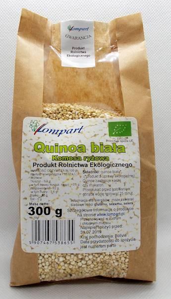Bio quinoa biała (komosa ryżowa) 300g Lompart