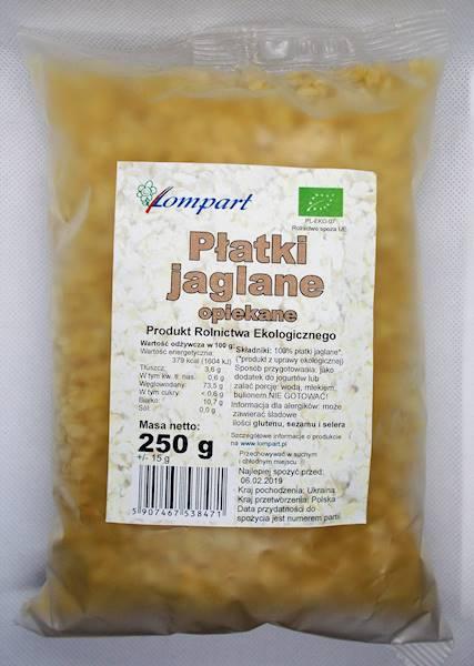 Bio płatki jaglane opiekane 250g Lompart