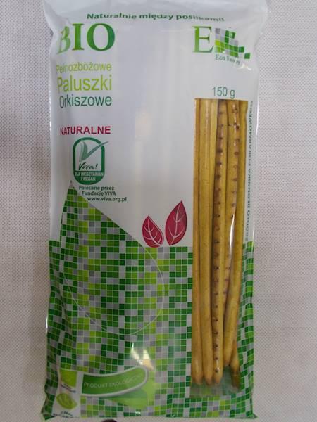 Bio paluszki orkiszowe pełnoziarniste naturalne 15
