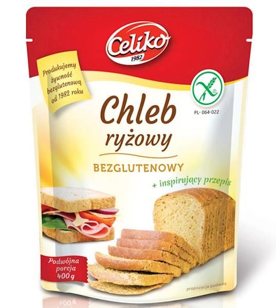 Celiko chleb ryżowy bezglutenowy 200g - koncentrat