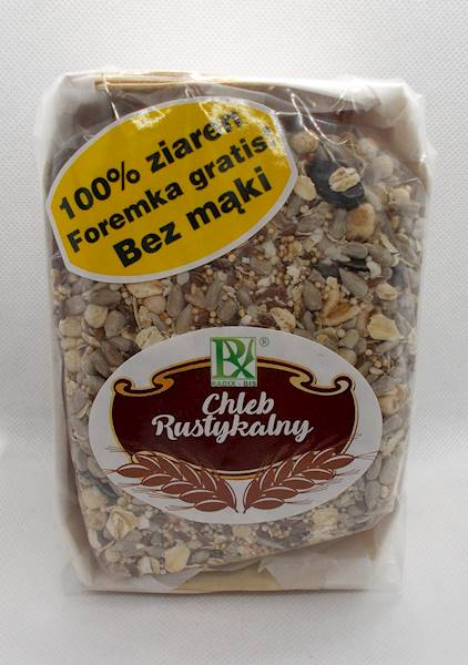Chleb rustykalny 350g Radix-Bis