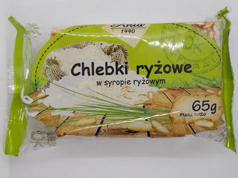 Chlebki ryżowe w syropie ryżowym 65g Ania