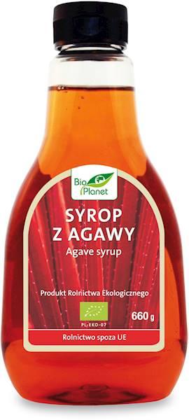 Bio syrop z agawy 660g Bio Planet