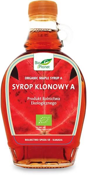 Bio syrop klonowy 0,25l Bio Planet