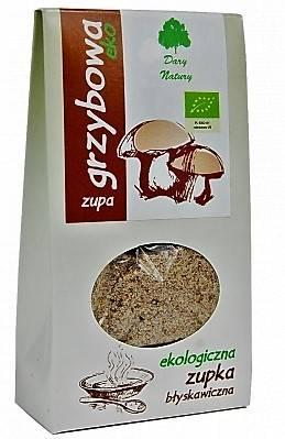 Bio zupa grzybowa błyskawiczna 30g Dary Natury