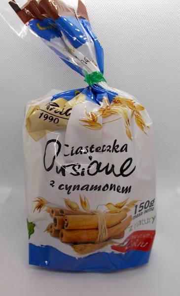 Ciasteczka owsiane cynamonowe bez dodatku cukru 15