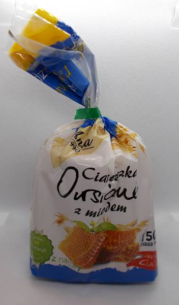 Ciasteczka owsiane z miodem 150g Ania