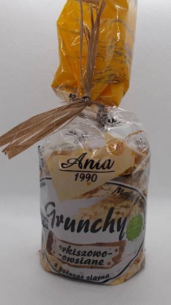 Ciastka crunchy orkiszowo-owsiane 180g Ania