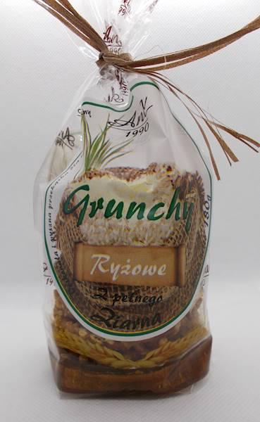 Ciastka crunchy ryżowe słodzone syropem ryżowym 18