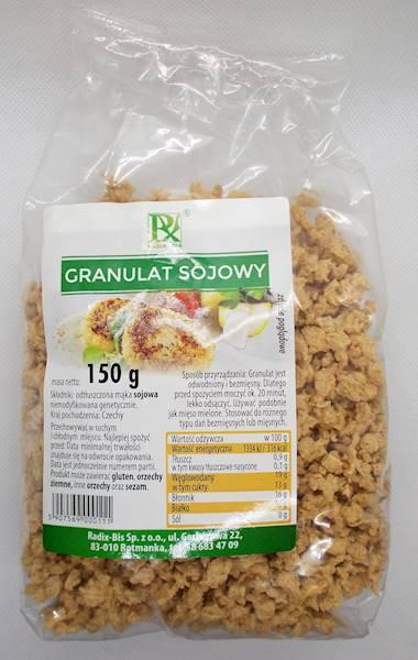 Granulat sojowy 150g Radix-Bis