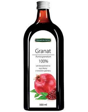 Granat - sok bezpośrednio wyciskany z owoców grana