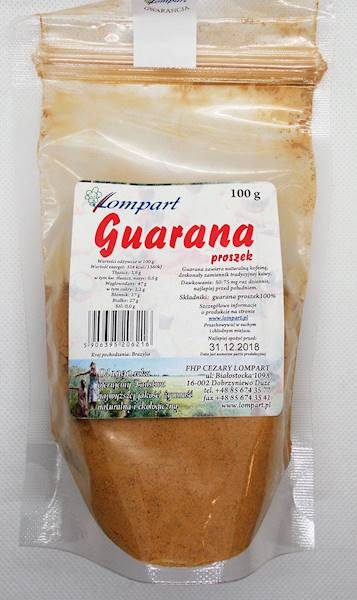 Guarana proszek 100g Lompart