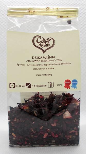 Herbata owocowa dzika wiśnia 50g Cafe Creator