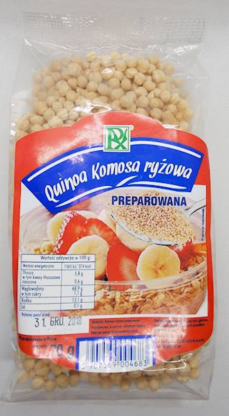 Komosa ryżowa preparowana 70g Radix-Bis