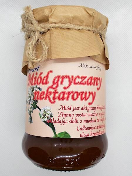 Miód gryczany nektarowy 380 g